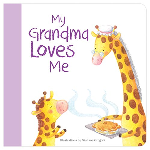 My Grandma Loves Me - Board Book