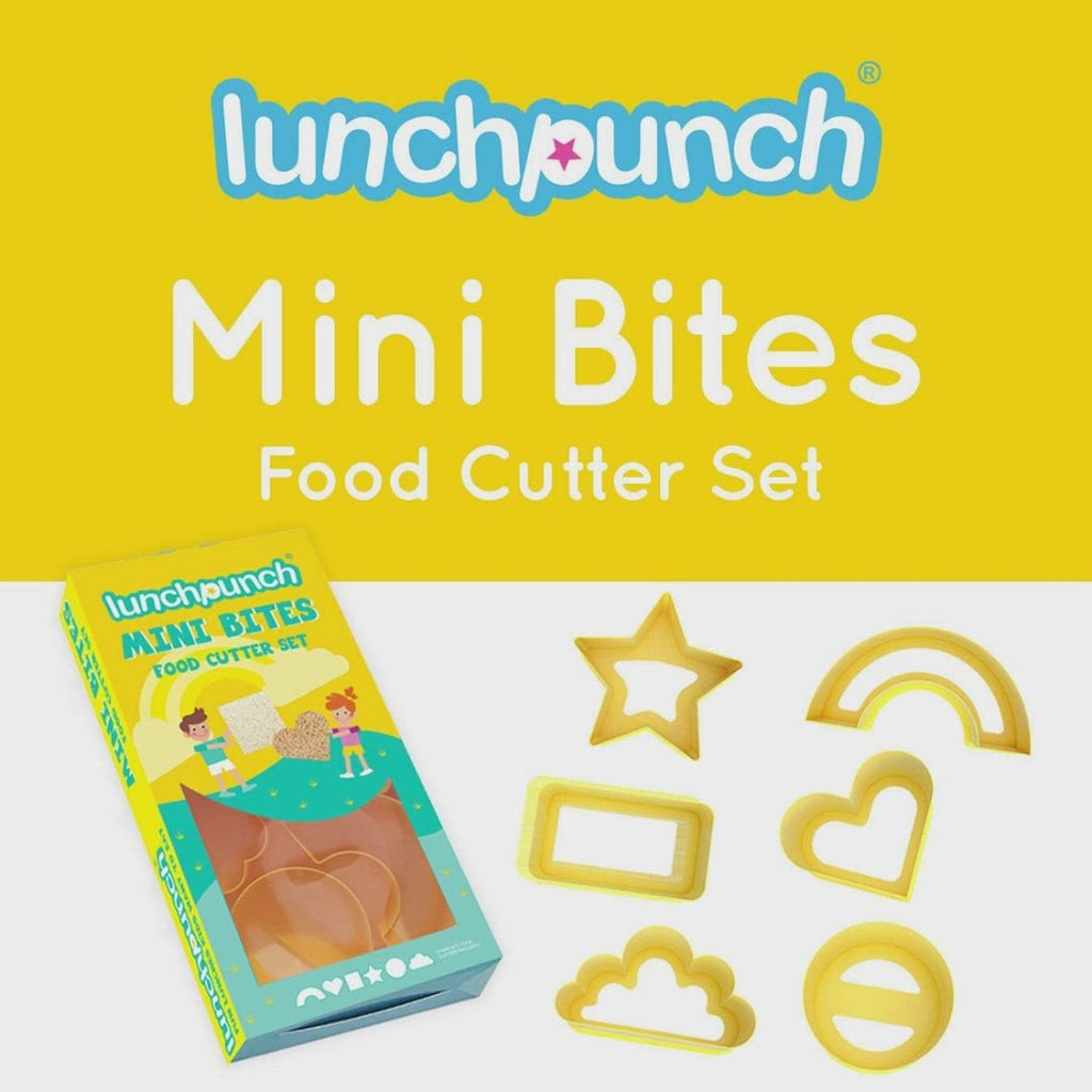 Lunch Punch Food Cutter Set - Mini Bites - NEW