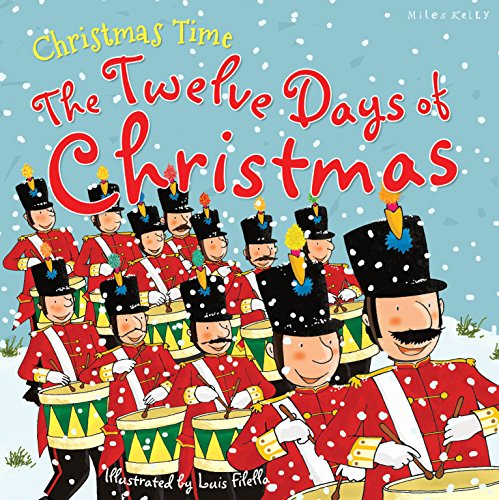 The Twelve Days of Chrismas - Paperback