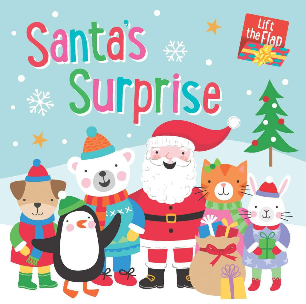 Santa's Surprise - Lift-the-flap - Board Book