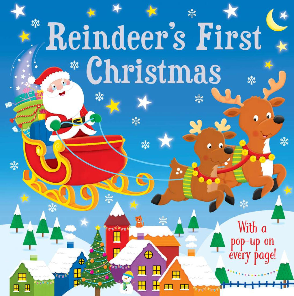 Reindeer's First Christmas - Pop-up Book - Hardcover