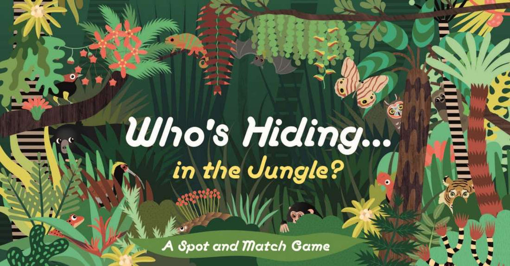 Who's Hiding... in the Jungle? - A Spot and Match Game