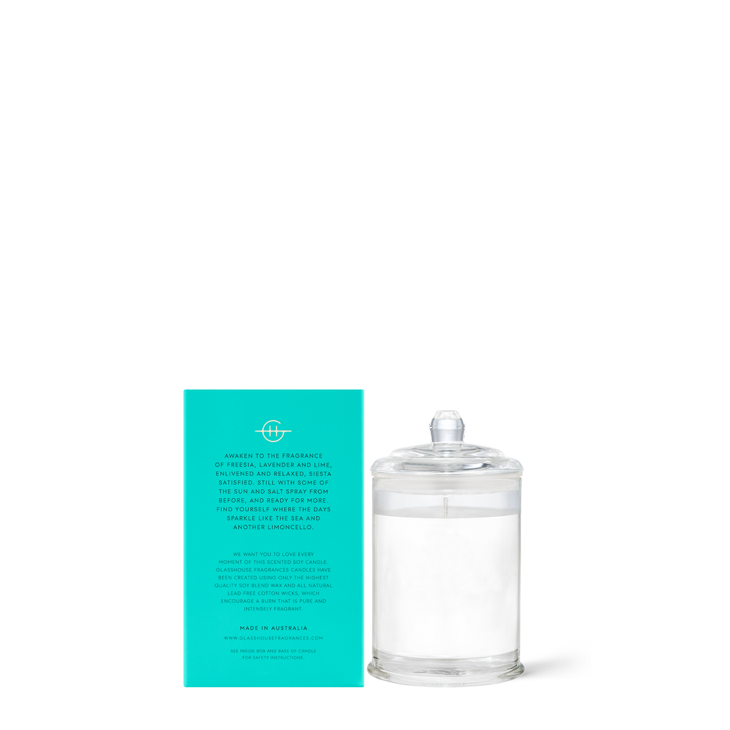Lost in Amalfi - Sea Mist 60g Soy Candle
