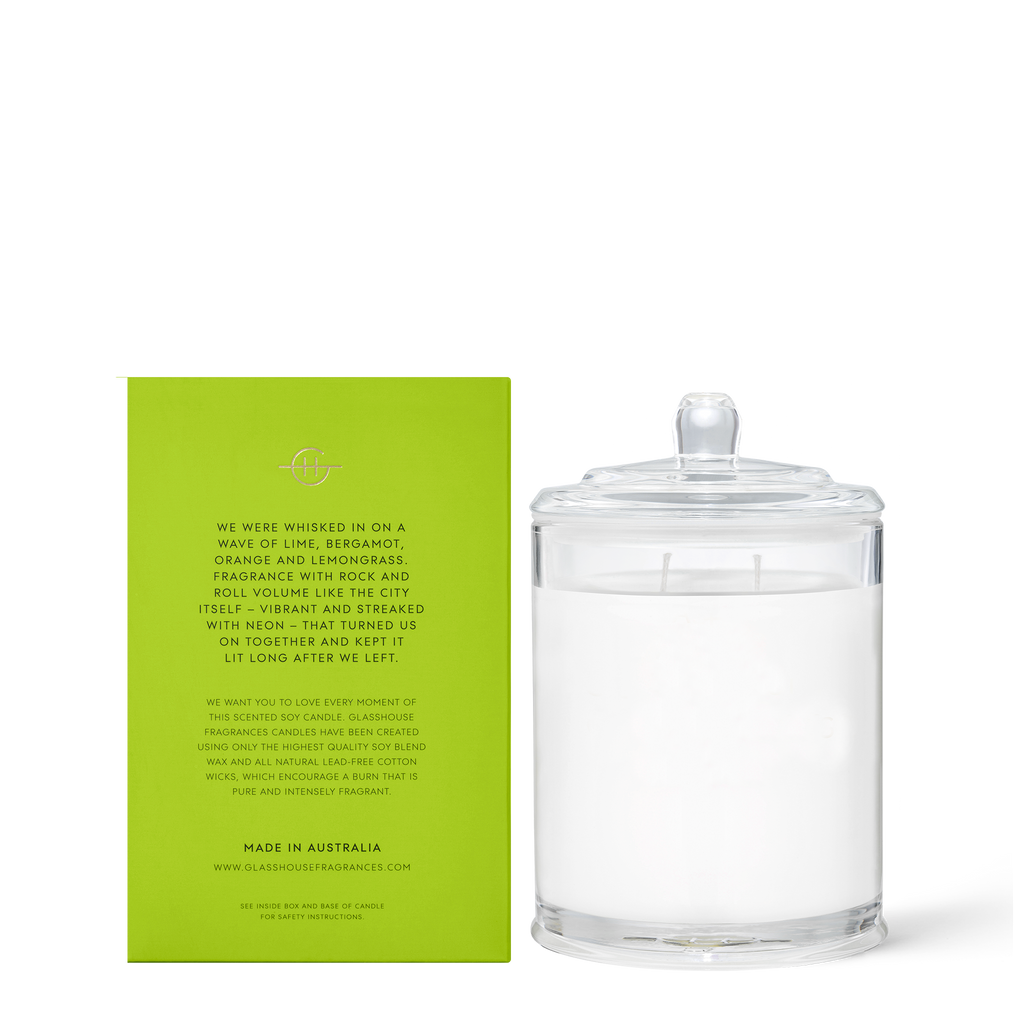 We Met in Saigon - Lemongrass 380g Soy Candle