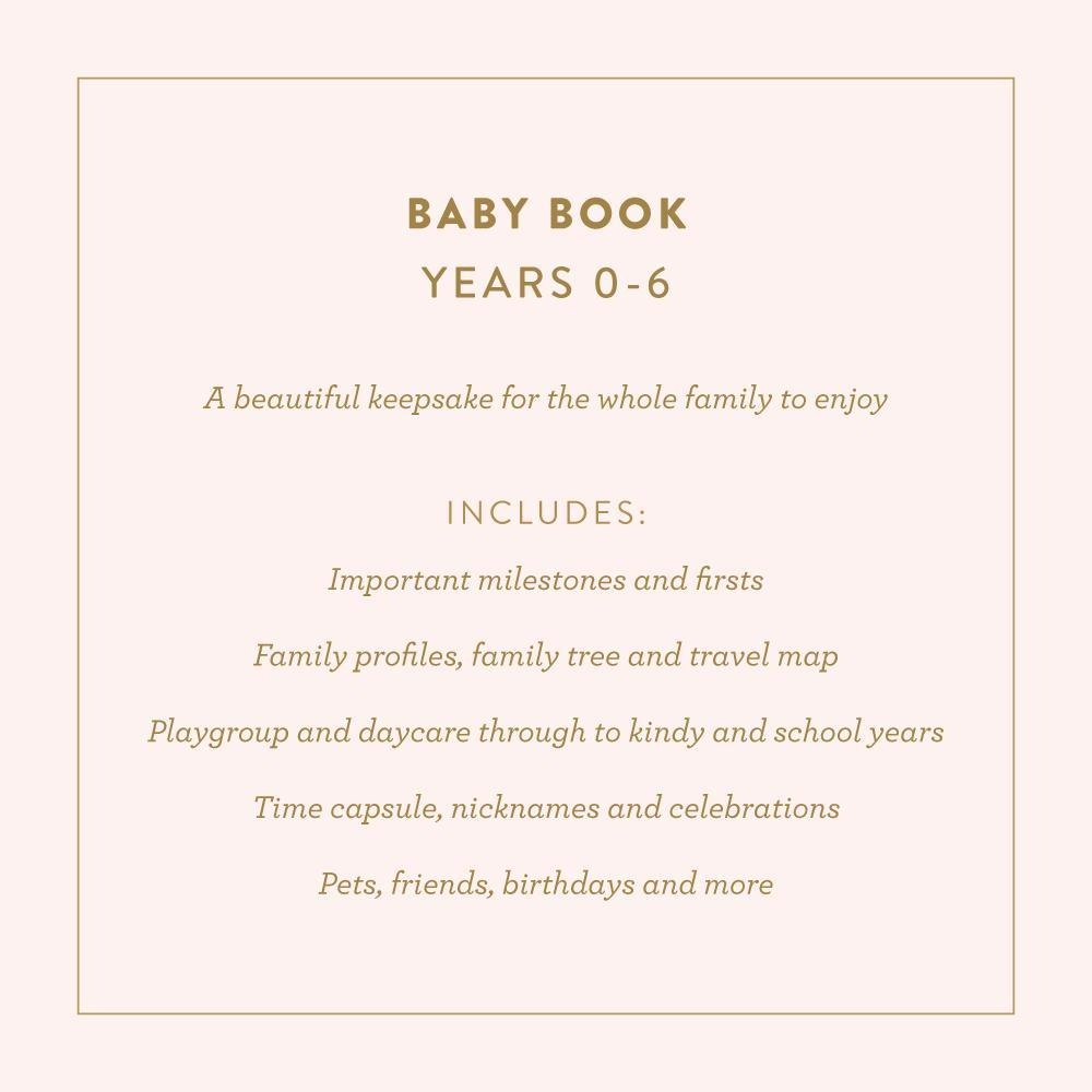 Baby Book Grey (Boys)