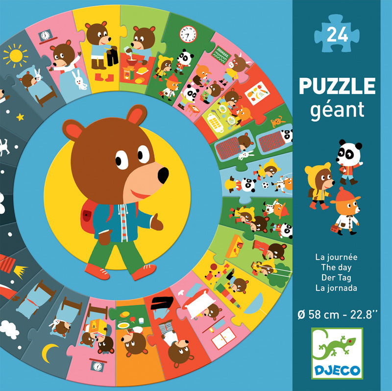 The Day - 24pce Giant Circle Puzzle