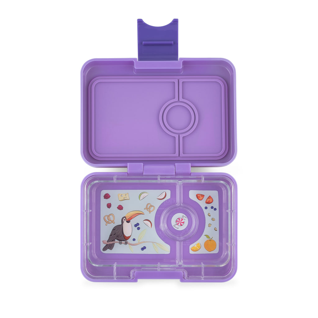 Mini Snack Yumbox - Dreamy Purple - NEW