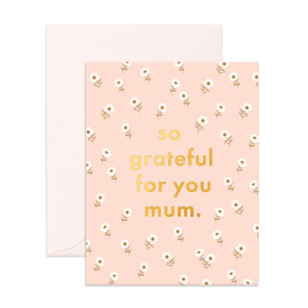 So Grateful Mum Card