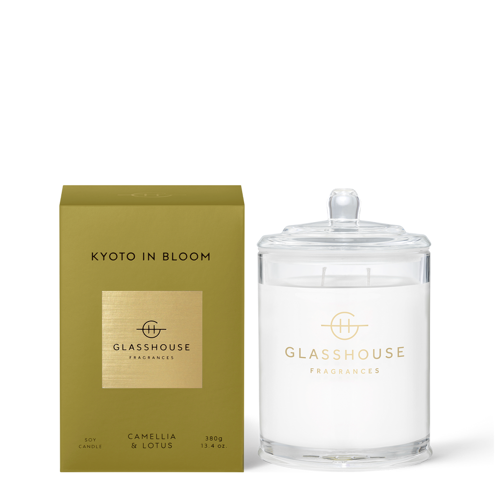 Kyoto in Bloom - Camellia & Lotus 380g Soy Candle