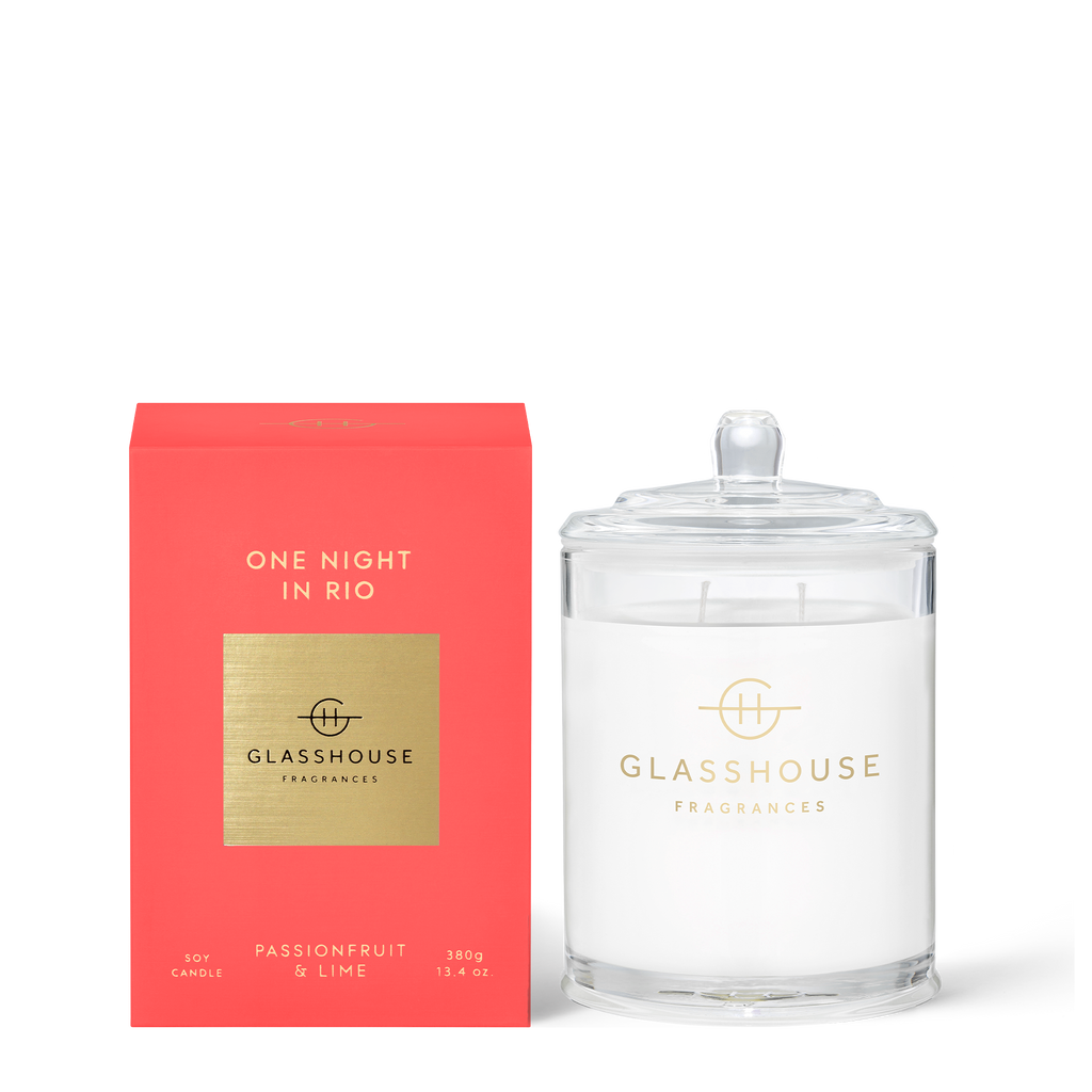 One Night in Rio - Passionfruit & Lime 380g Soy Candle