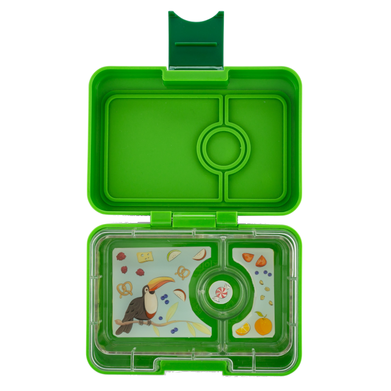 Mini Snack Yumbox - Go Green - NEW