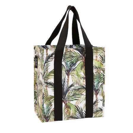 Market Bag - Green Palm