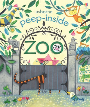 Peep Inside The Zoo - Lift the Flap - Board Book