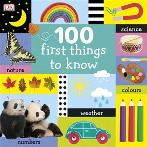 100 First Things To Know - Board Book