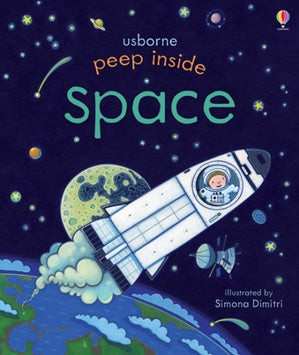 Peep Inside Space - Lift the Flap - Board Book