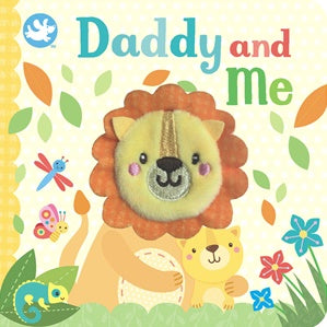 Daddy and Me - Finger Puppet - Board Book