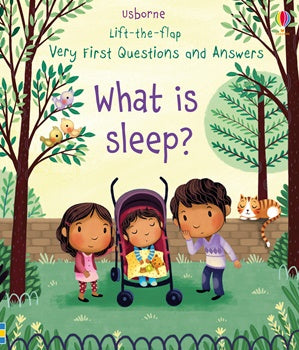 What is Sleep? Very First Questions and Answers - Lift The Flap - Board Book