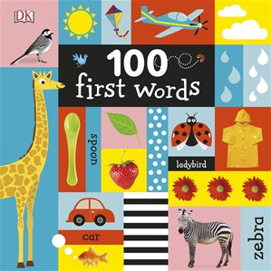 100 First Words - Board Book