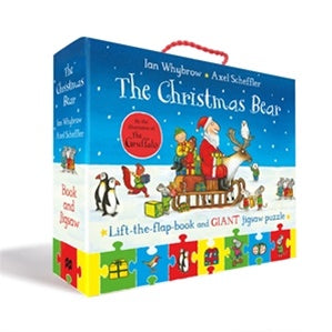 Christmas Bear Book & Jigsaw Set
