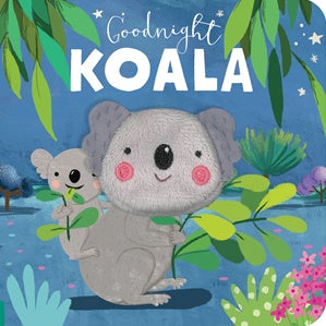 Goodnight Koala - Finger Puppet - Board Book