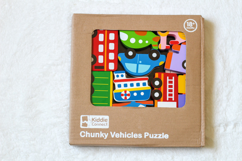 Vehicles - Chunky Puzzle
