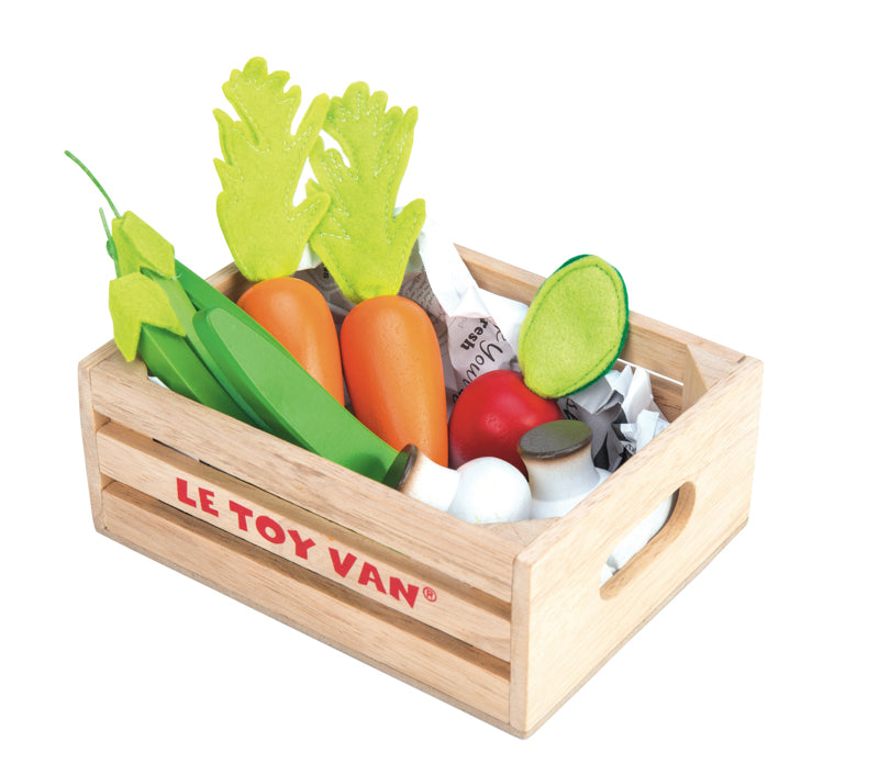 Harvest Vegetables in Crate