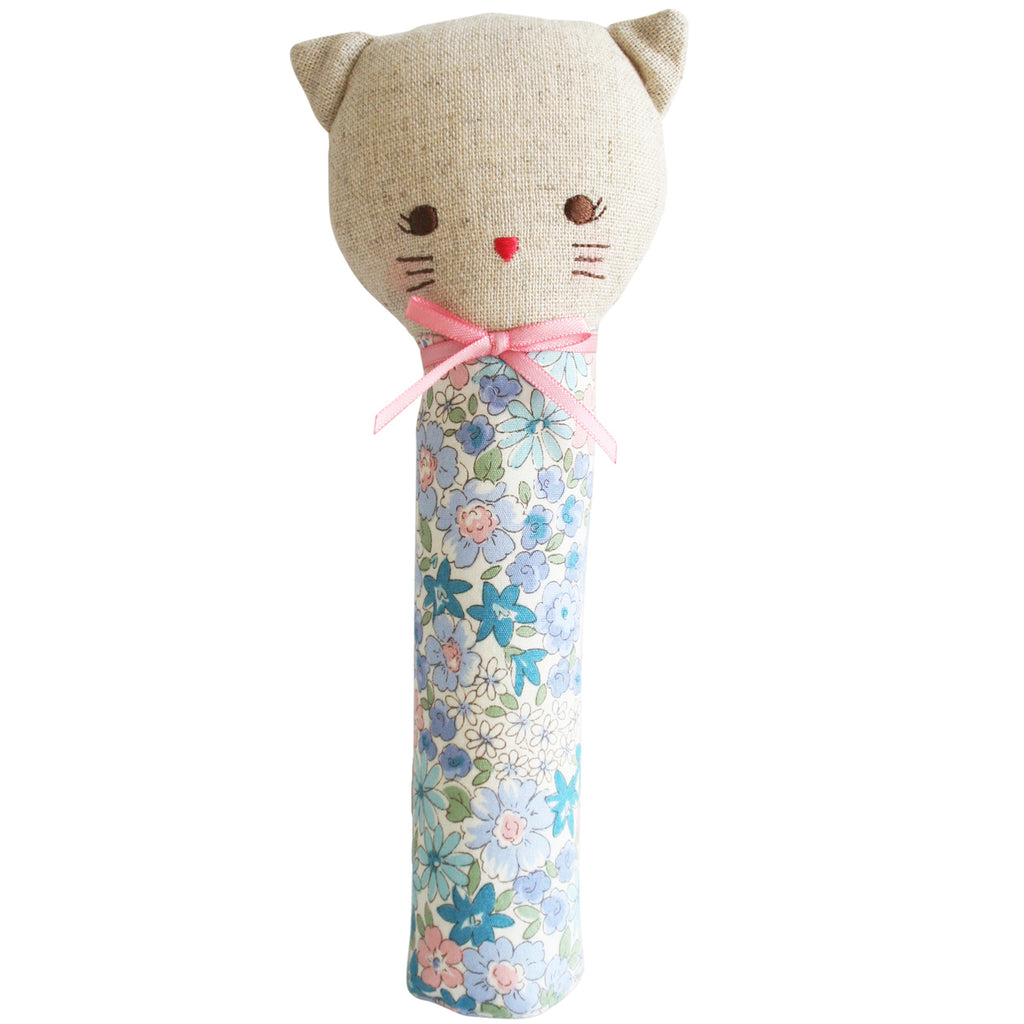 Odette Kitty Squeaker - Liberty Blue