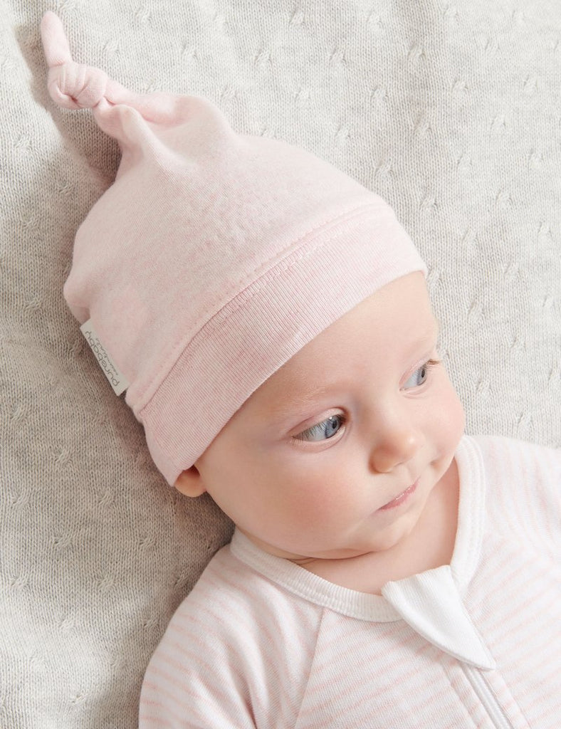 Knot Hat - Pale Pink