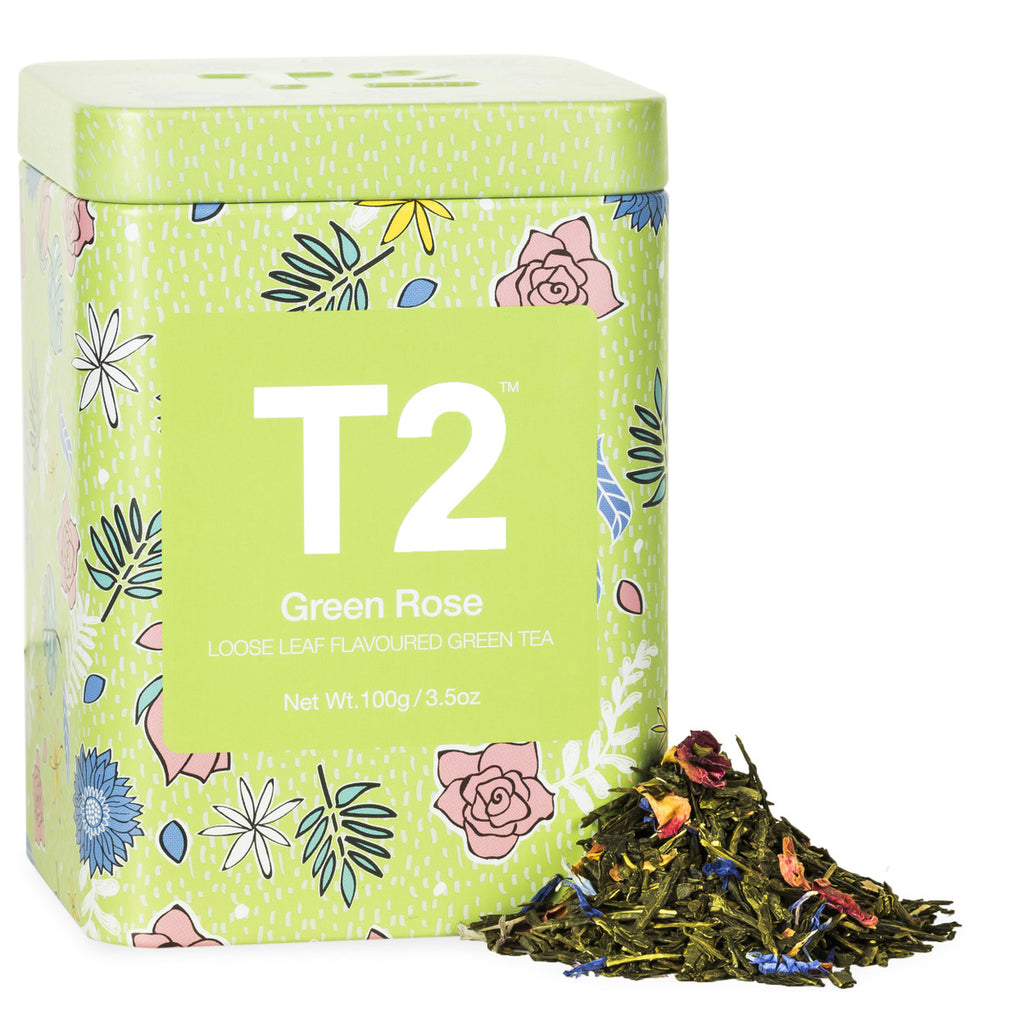 Green Rose 100g Feature Tin - Loose Leaf