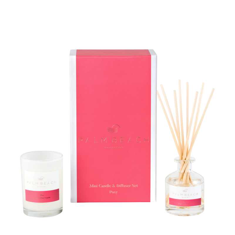 Posy Mini Candle & Diffuser Gift Pack