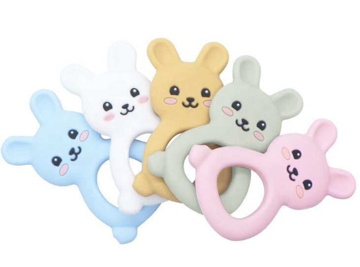 Jellies Bunny Teether - White