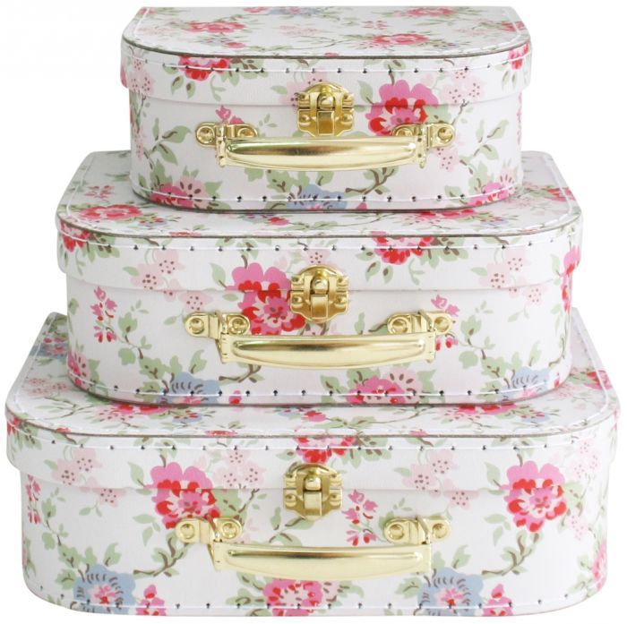 Kids Carry Case Set - Cottage Rose