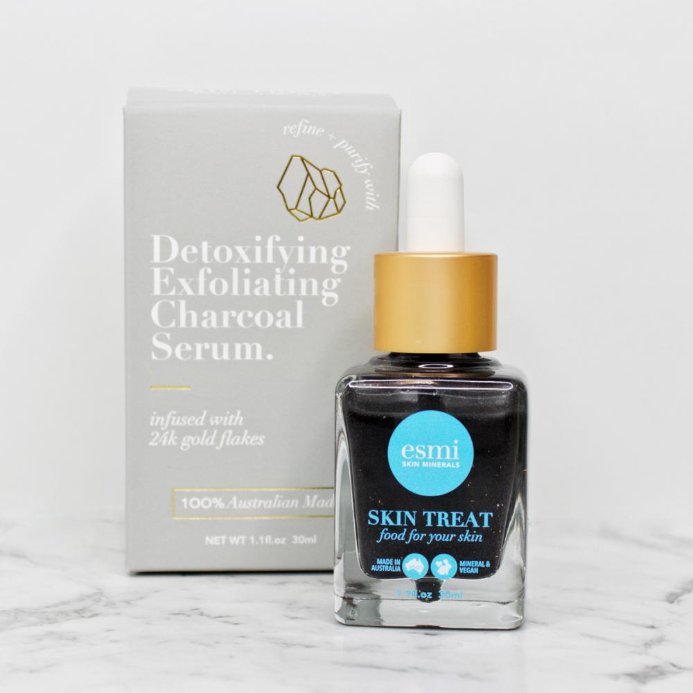 Detoxifying Exfoliating Charcoal Serum