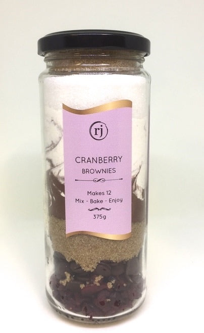 Brownies - Cranberry