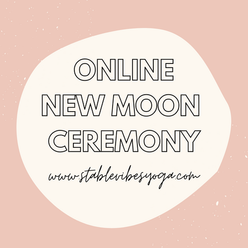 Online New Moon Ceremony