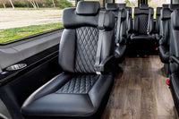"Sprinter Addons | Seats | 19"" Halo PVC Captain Chair 