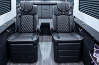 "Sprinter Addons | Seats | 21"" Halo PVC Captain Chair 