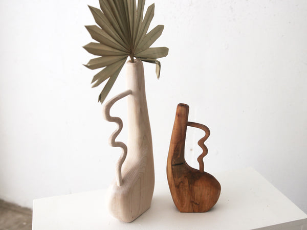 Large Maple Squiggle Bud Vase