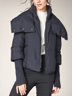 Short Down Coat, Warm Puffer Jacket