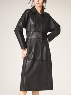 Sheepskin Long Trench