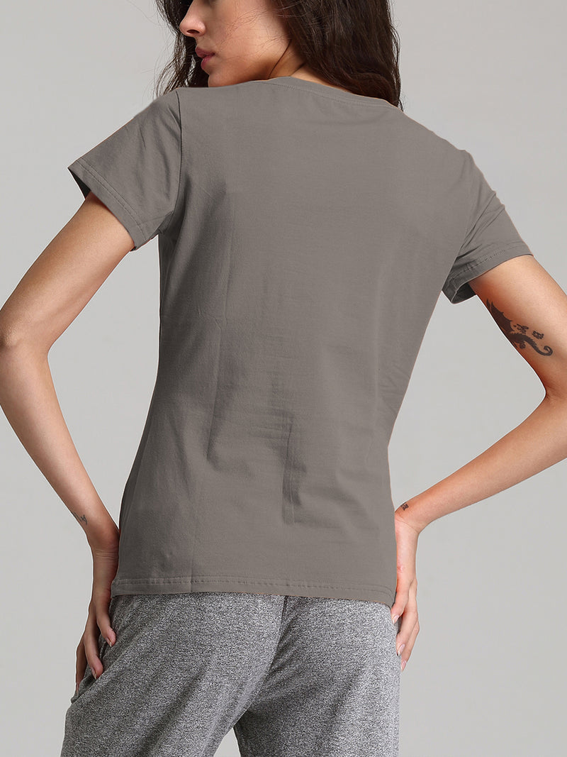 Basic Cotton Short Sleeve T-Shirt