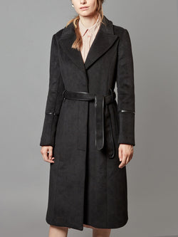 Trench Wrap, with Belt