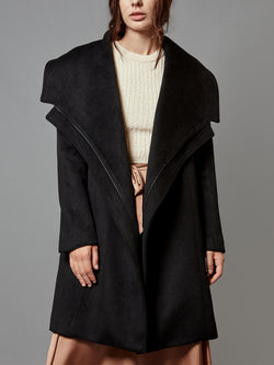 Wool Trench, Open Lapel