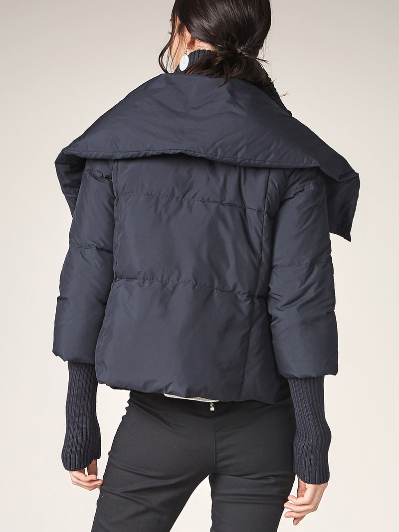 Short Puffer Down Coat