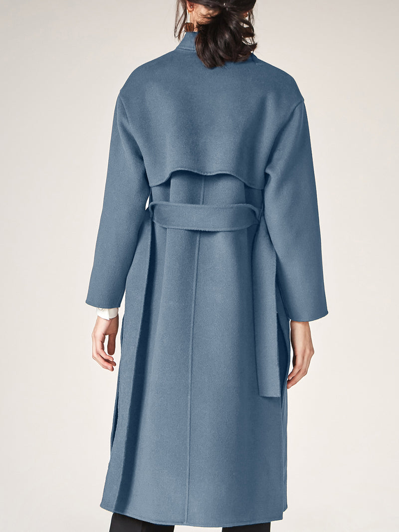 100% Wool Trench Coat