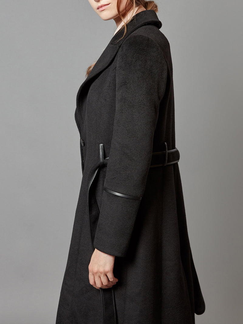 Trench Wrap with Belt