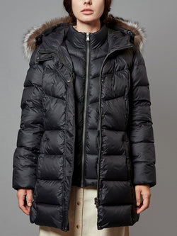 Double Zipper Down Jacket
