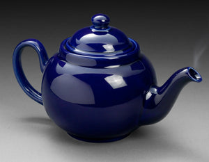 Cobalt Blue Betty Teapot