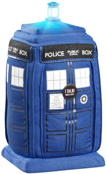Doctor Who: Materializing TARDIS Plush