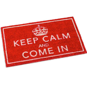 Keep Calm and Come In Doormat